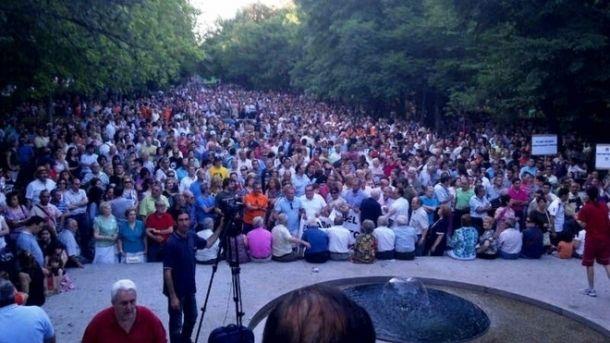 Vídeos de la manifestación del 5J 'Por el futuro de Puertollano'