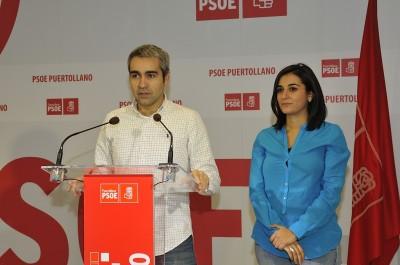 Rafael Sánchez e Isabel Rodríguez