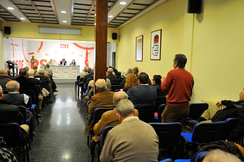 El PSOE denuncia el castigo del gobierno de Rajoy a los pensionistas de nuestro país