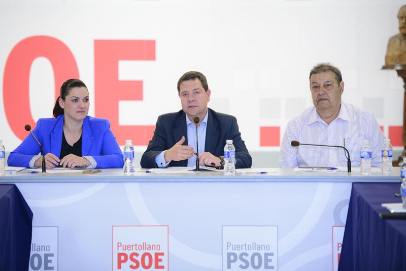 La Ejecutiva Regional se reúne en Puertollano para analizar la situación socioeconómica de la ciudad