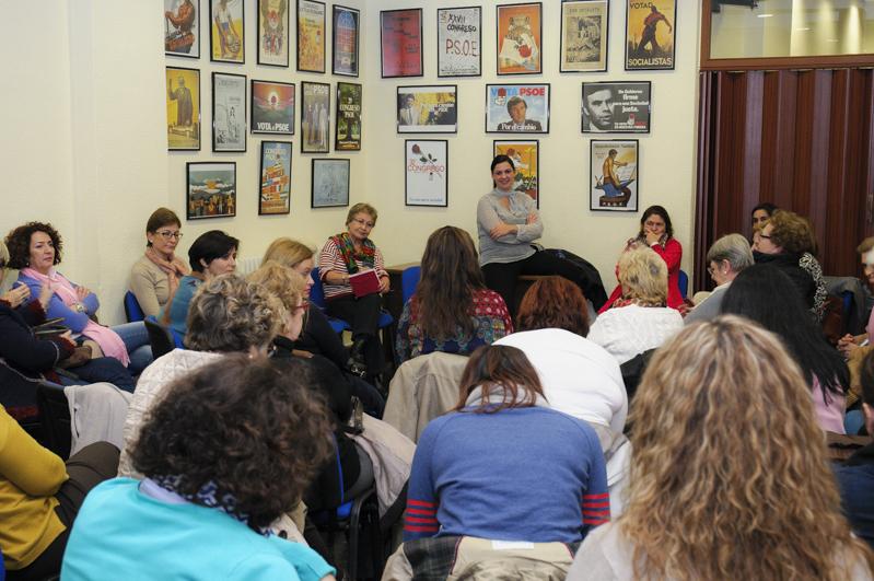 Primer encuentro con la militancia: mujeres socialistas