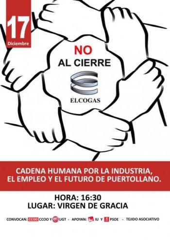 Secundamos las nuevas movilizaciones convocadas por los sindicatos en apoyo a ELCOGAS y a la industria