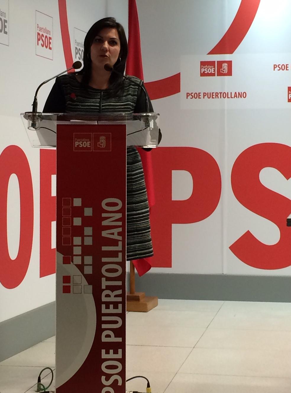 """Mayte Fernández """"El partido socialista es un instrumento útil para Puertollano y para nuestro país y lo va a seguir siendo"""""""