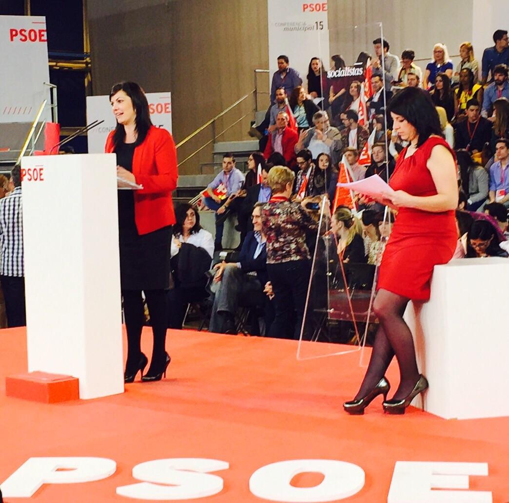 Mayte Fernández participa en la Conferencia Municipal del PSOE