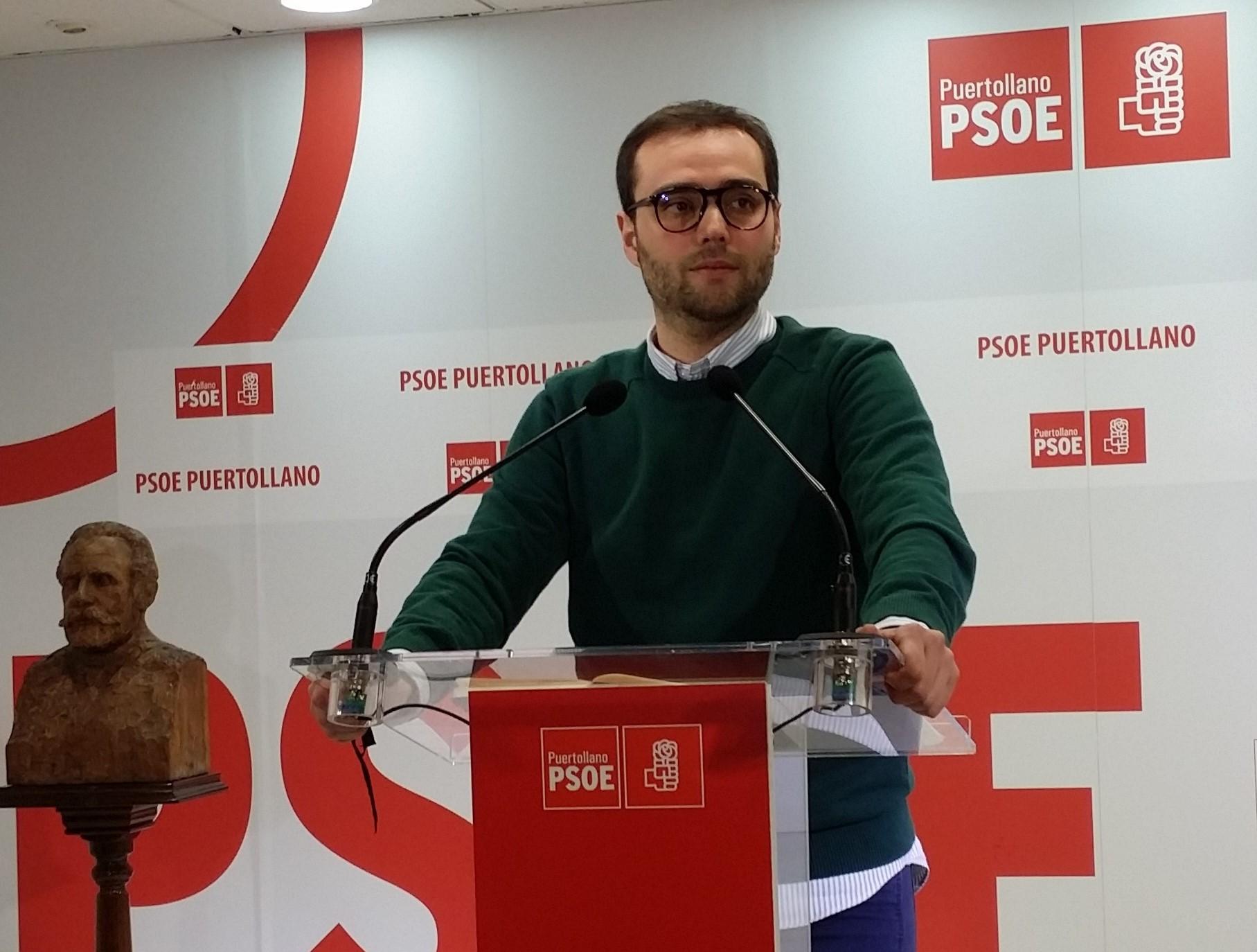 """El PSOE defiende su perspectiva de futuro para Puertollano mientras Ciudadanos """"permanece anclado en el pasado""""."""