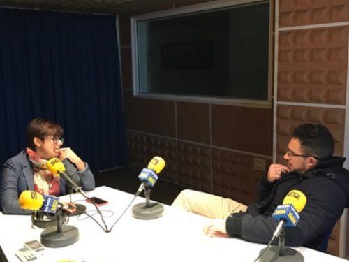 Entrevistas radiofónicas a la nueva secretaria local del PSOE de Puertollano