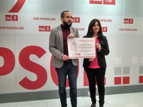 Blanca Fernández y María Luisa Gallardo serán galardonadas en Puertollano en los II Premios de la Rosa del PSOE