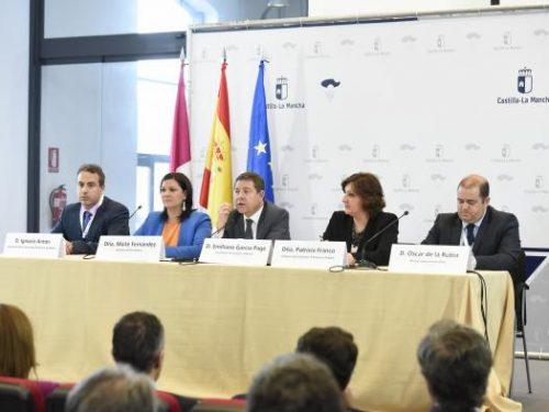 El Presidente García Page inaugura el Congreso Internacional de Fotovoltaica en Puertollano