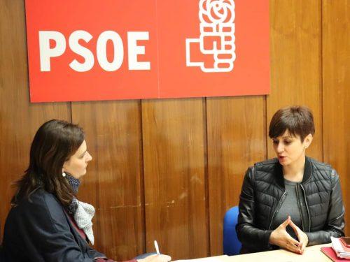 Entrevistas a la candidata a la alcaldía de Puertollano, Isabel Rodríguez.