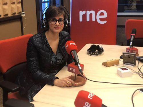 Isabel Rodríguez liga su posible futuro como alcaldesa de Puertollano al empleo, a la apuesta por la reindustrialización y las energías renovables