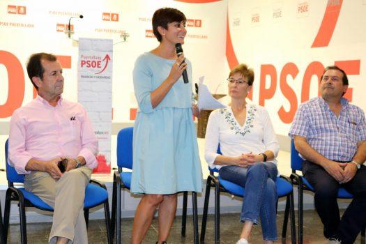 """LA SECRETARIA GENERAL DEL PSOE DE PUERTOLLANO, ISABEL RODRÍGUEZ, VALORA LOS 100 DÍAS DE GOBIERNO COMO """"EXITOSOS, DE INTENSO TRABAJO Y DE EFICACIA"""""""